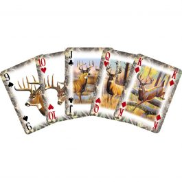 Deer Playing Cards