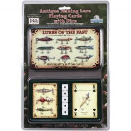 Antique Lures Card & Dice Set