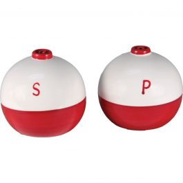 Bobber Salt and Pepper Shakers
