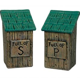 Outhouse Salt and Pepper Shakers